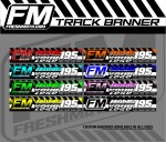 FRESH MOTO TRACK BANNER