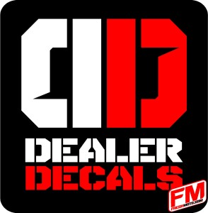 dealer decals