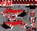 fm camo digi cr 125 - 250 RED-WHT-BLK
