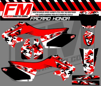 fm camo digi cr 125 - 250 RED-WHT-BLK