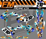 ktm race decals