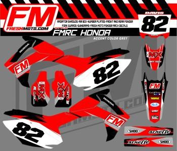moto cross graphics for Hondas