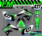 fm slash kxf 450 2012 green blue
