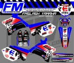 yamaha race decals