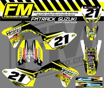 motocross racing decals