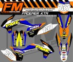 fm oemer ktm blue yellow