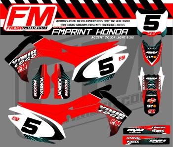 honda motocross graphics