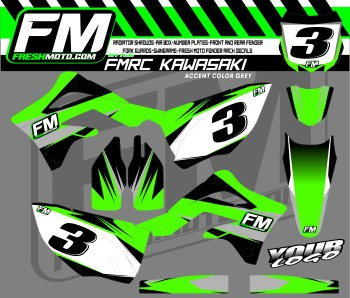 kawasaki custom graphics