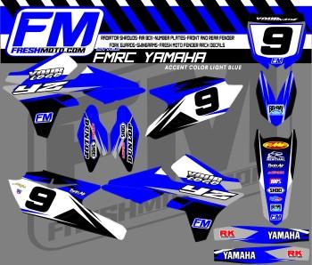 custom yamaha graphics