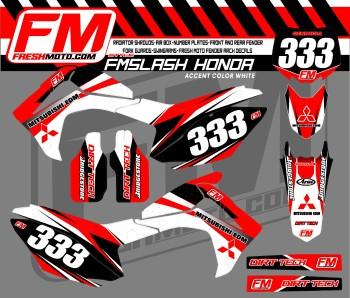 fresh moto honda graphics
