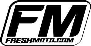 Fresh Moto Logo black and white