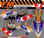 fresh moto FM MTF graphic kit